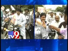 Ghazal Srinivas bike rally in Tirupati