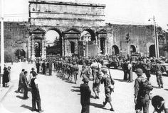 1944 June 4 A multinational Allied force moves fast from Monte Cassino to capture Rome South East Europe, Photo Maps, Sicily Italy, North Africa, Military History, Great Britain, World War Ii, Old Photos, In This Moment