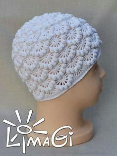 Gorgeous stitch crochet hat..love itツ