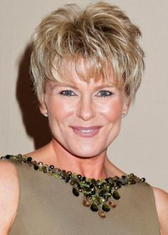Pixie Cuts Over 40: Judi Evans Luciano