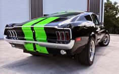 Electric Mustang Conversion Zooms From 0-60 In Under 2 Seconds!  ... see more at InventorSpot.com