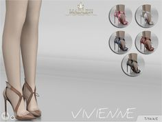 The Sims Resource: Madlen Vivienne Shoes by MJ95 • Sims 4 Downloads