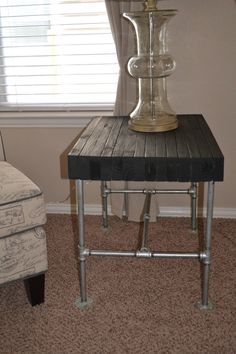 Industrial Table Custom Sizes by VersaillesCreations on Etsy, $200.00