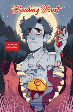 A steampunk-spiced comic about an injured werewolf, an amateur mad scientist, and (mostly) good intentions. 32 pgs., B W    NOTE: This comic contains some (nonsexual) nudity and light swearing.    The print edition of this comic was funded through a successful Kickstarter campaign in August 2014!...