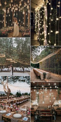 Wedding Hanging Decoration Ideas to Love - EmmaLovesWeddings wedding lighting decoration ideas<br> As one of the most trending decoration ideas for weddings, hanging décor keeps showing up of all themes this year. There's endless fabulous array of. Wedding Reception Planning, Outdoor Wedding Venues, Wedding Ceremony, Wedding Bride, Rustic Wedding, Beach Wedding Reception, Wedding Arches, Whimsical Wedding, Indoor Wedding