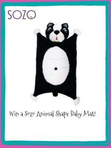 Enter to #Win an animal  shape #babymat from @sozousa #kids #giveaway #naptime #gifts @born2impress #ad #children #mom #giftsforkids