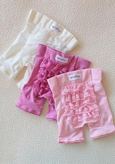 Fancy Frilly Ruffled Bloomers Gift Set At Shopruche.com  ***Totally want these for baby Mari