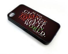 Amore Be The Change Iphone 5, 5S Case