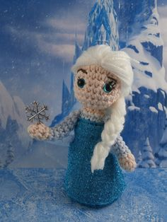 Let it go! : Elsa from Frozen amigurumi  Moñacos cosicas y meriendacenas