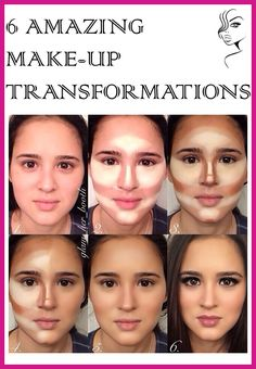 6 Amazing Make-Up Transformations