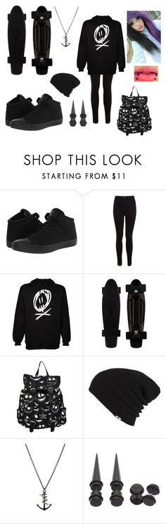 """Untitled #81"" by worthlesschild ❤ liked on Polyvore featuring Converse, Miss Selfridge and Vans"