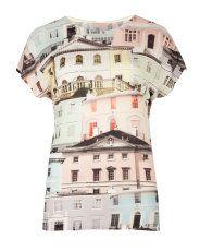 Great top - Regency houses printed top - Ted Baker