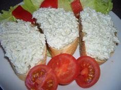 Česnekovo-nivová pomazánka recept - TopRecepty.cz Fast Dinners, Canapes, Food 52, Party Snacks, Appetizers, Food And Drink, Menu, Cooking Recipes, Yummy Food