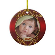 Babys First Christmas Photo Frame Christmas Ornaments