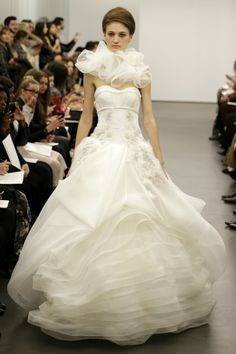 New Vera Wang Wedding Dresses: Classic Shapes + Killer Corsets = One Amazing Collection! : Save the Date