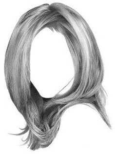 how to draw reaslistic looking hair
