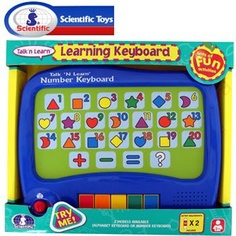 SCIENTIFIC TOUCH AND LEARN NUMBER KEYBOARD