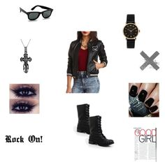 """Rock On!"" by lovetoonight ❤ liked on Polyvore"