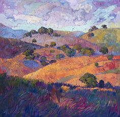 Landscape painting by Erin Hanson