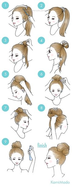 elegant Audrey Hepburn style up style – with illustrations]… : Easy ? elegant Audrey Hepburn style up style - with illustrations]. Pretty Hairstyles, Braided Hairstyles, Everyday Hairstyles, Hair Arrange, Hair Dos, Hair Hacks, Curly Hair Styles, Beauty Hacks, Hair Makeup