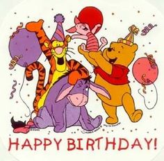 happy birthday pooh
