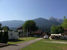 Kamperen in Oostenrijk, Kötschach-Mauthen (Karinthie) bij camping Alpencamp