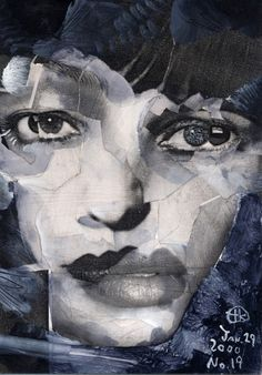 Project Showcase - Broken 1000 Faces by Takahiro Kimura Facial Expressions, Japanese Artists, Jazz, Art Photography, Faces, Portraits, Paintings, Gray, Artwork