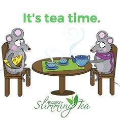 It's tea time! #brazilianslimmingtea #brazilianbelle # teatime