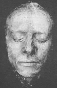 This is the death mask of the poet John Keats.