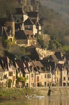 La Dordogne is a department in southwest France which features lots of super cool medieval architecture and over 1,500 castles! Oh, and the food there is exceptional :)