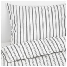 IKEA - HÖSTÖGA, Duvet cover and pillowcase(s), Twin, , Cotton feels soft and nice against your skin.