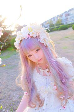 lolita, pastel, kawaii, Japan Style