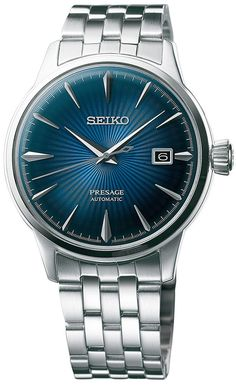 @seikowatches Presage Cocktail Automatic #add-content #basel-17 #bezel-fixed #bracelet-strap-steel #case-depth-11-8mm #case-material-steel #case-width-40-5mm #date-yes #delivery-timescale-call-us #dial-colour-blue #gender-mens #limited-code #luxury #movement-automatic #new-product-yes #official-stockist-for-seiko-presage-watches #packaging-seiko-presage-watch-packaging #price-on-application #style-dress #subcat-presage #supplier-model-no-srpb41 #warranty-seiko-presage-offi...
