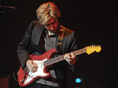 """Eric Johnson: I knew about him for at least 4 years but hadn't HEARD him play until I saw him perform """"Cliffs of Dover"""" on The Tonight Show Starring Johnny Carson.  I went out and bought the CD """"Ah Via Musicom"""" the very next day. Steve Morse once said, """"Eric Johnson is so good, it's ridiculous."""" He ain't kidding.  He's taught me as much as anyone out there."""