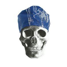 """""""Bones"""" theatre cap"""