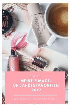 Die Auswahl an Make-Up Produkten ist riesig. Hier seine Lieblinge zu finden nicht leicht. Ich stelle meine 5 Make-Up Favoriten 2019 auf dem Blog vor und habe mir sichtlich schwer getan. Entschieden habe ich mich für Basic Produkte für den täglichen Gebrauch. #beauty #makeup #favoriten2019 Girly Girl, Make-up-tipps Und Tricks, Plus Size Fashion, Make Up, Trends, Beauty, Blog, Birthday, Woman