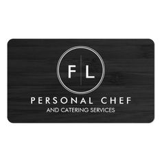 217 Best Catering Business Cards Images In 2019