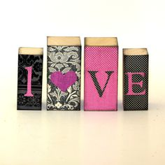 Love Wood Block