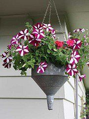 Cute idea for an old funnel.