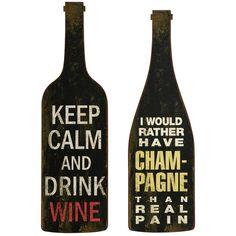wine wall art :)