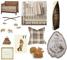 Nursery Planning - Woodland Theme