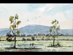 Watercoloring tips for beginners - YouTube