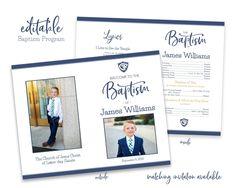 gallery photo Baby Boy Birth Announcement, Birth Announcement Template, Announcement Cards, Lds Baptism Program, Program Template, Invitation Templates, Boy Baptism, Baptism Invitations, Candy Gifts