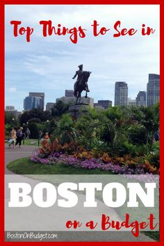Top Things to See and Do in Boston on a Budget #boston #travel