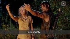 """27 Snapchats Only """"Walking Dead"""" Fans Will Understand"""