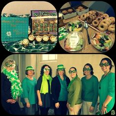 Many thanks to our BFF Crew for an awesome St. Patrick's Day celebration! We enjoyed a fabulous breakfast & each had a surprise waiting at our desks.