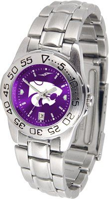 Kansas State University Wildcats Sport Steel Band Ano-chrome - Ladies - Women's College Watches by Sports Memorabilia. $59.95. Makes a Great Gift!. Kansas State University Wildcats Sport Steel Band Ano-chrome - Ladies