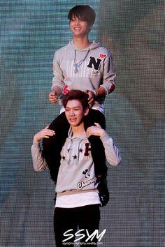 ❤ #VIXX - Hyuk & N! :D ❤ #hyuk #n #hakyeon #sanghyuk