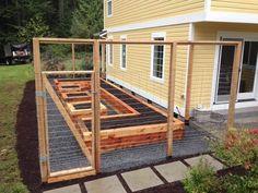 Enclosed Raised Bed Garden — Seattle Urban Farm Company