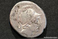DENARIO REPUBLICA POSTUMIA D.POSTUMIUS ALBINUS BRUTI ROMA 48 AC